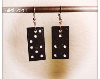 Domino earrings