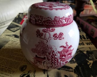 Mason's Ironstone Tea Jar
