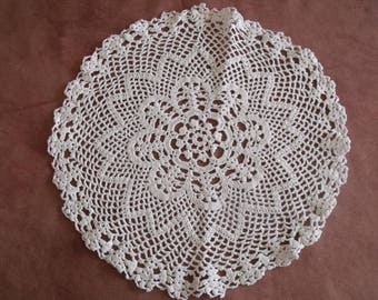 small white doily