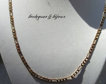 NECKLACE unisex gold chain large link gold plated unisex jewelry, charms or pendants