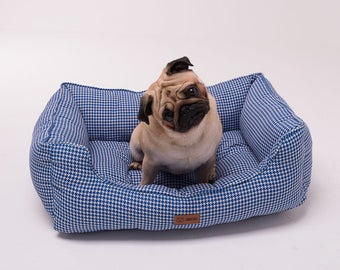 Bed for dog Takeshi Blue Marine