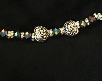 Iridescent Hearts Bracelet