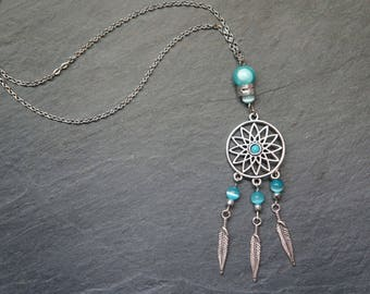Necklace turquoise Dreamcatcher - Belinda