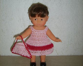 Dress and purse for mini doll