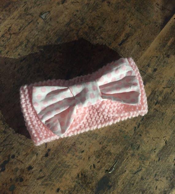 Wool, baby knot headband.
