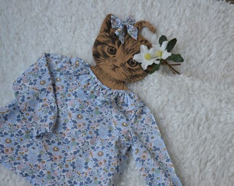 Blouse liberty betsy denim