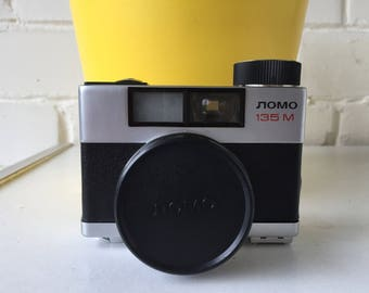 Vintage photo camera Lomo 135M made in Russia