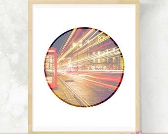 London Phone Box | Office Decor | Digital Artwork | London Prints | Minimalist Decor | Digital Print | Gift For Traveler