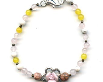 "Bracelet Crystal healing ""Radiation - optimism - joy"""
