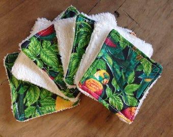 Remover cotton reusable
