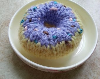Knitted Donut Plush