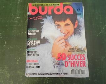 Magazine BURDA December 1994