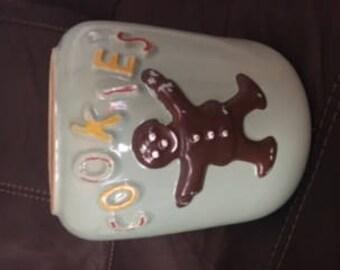 Vintage Gingerbread Cookie Jar