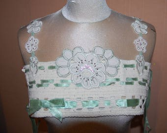 BIB has sewing crochet and application