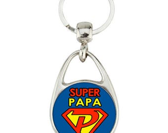 for the super dad keychain