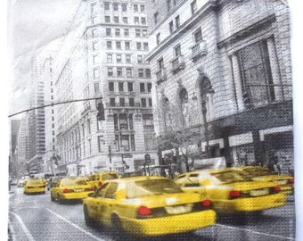 20 napkins TAXIS Americans REF.   3376