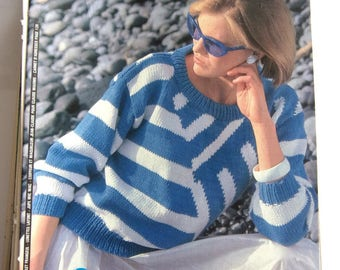 French MODES & work - may 1983 KNITTING booklet