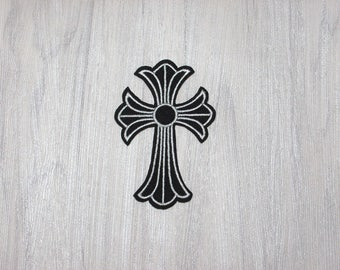 Iron on patch -   cross patch