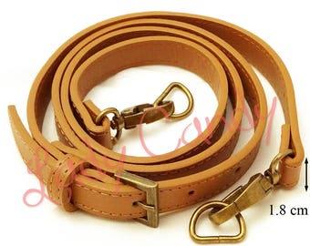 Shoulder bag 110-123 cm #330044 leatherette strap handle