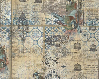 Eclectic Elements - Tim Holtz - Menagerie - PWTH025