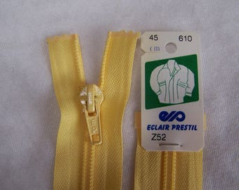 Zip yellow nylon straw, 45 cm (Z52 610)