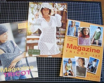 Set of 3 catalogs - knitting - women's clothing and child