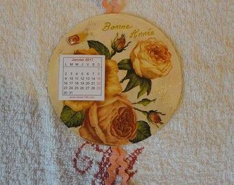 CD repaints monthly calendar hanging 2017 (No.1)