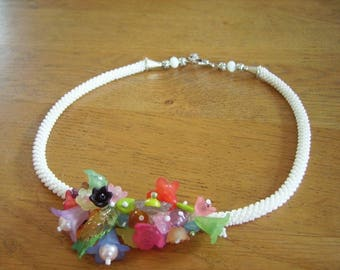 "Necklace ""medley of flowers"""