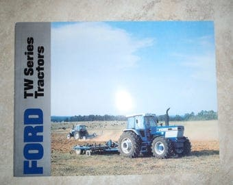 Ford TW Series Tractor Literature