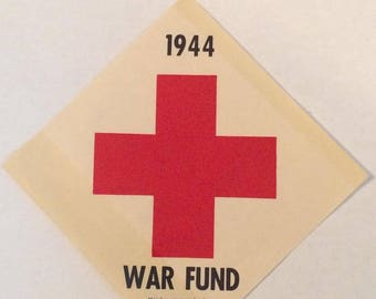 World War Two American Red Cross grouping