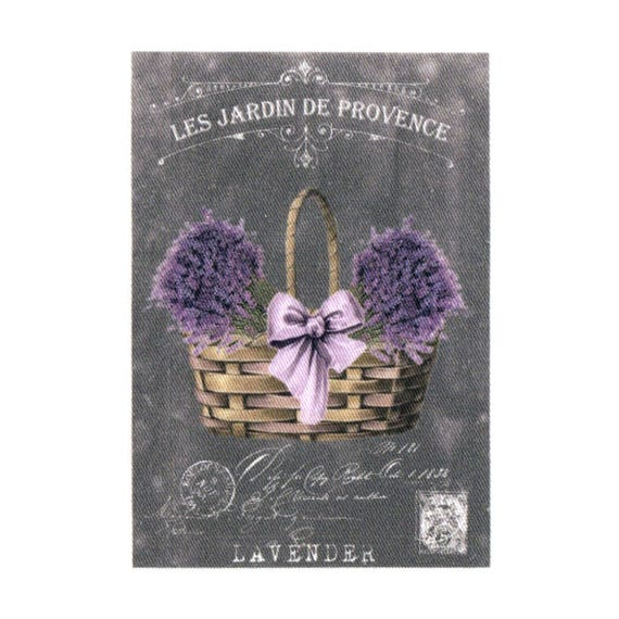 """Applied fusible - Collection """"Lavender background chalk"""" AT404-5"""