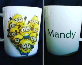 Minions mug personalized