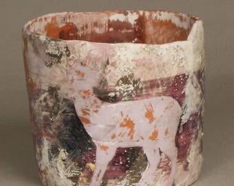 Handmade ceramic art pottery by artist Ty Bender