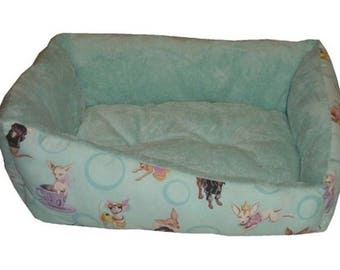 Dog Bed Chihuahua Fabric