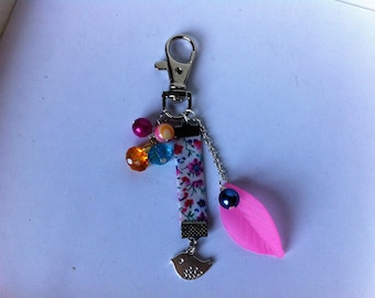 Fancy key ring or bag charm