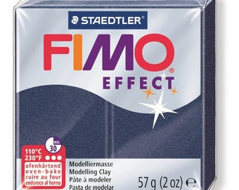 Fimo Effect 57 g - sapphire blue metallic N 38 - Ref 68020038 - while quantities last!