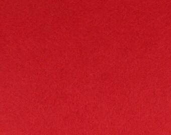 Felt 1 mm cutting red - 30 x 30 cm - Ref 13070042