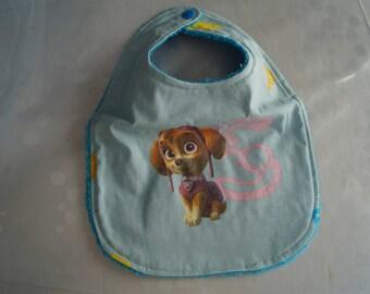 Bib for boy fabric