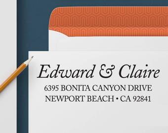 Return Address Stamp 342 - Self Inking Stamp, Custom Address Stamp, Custom Stamp, Personalized Address Stamp, Wedding and Housewarming Gift