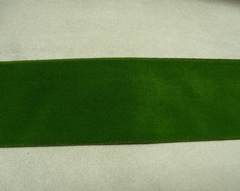 Ribbon - 5 cm - Green Velvet