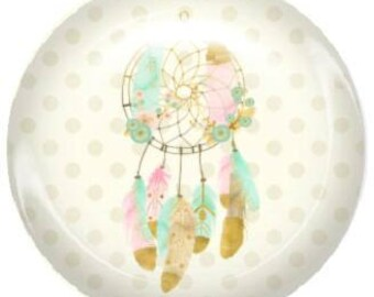 1 for creating jewelry dreamcatcher dream catcher glass cabochon