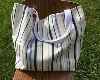 Great Deckchair canvas beach bag