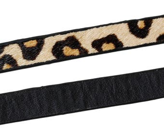 Approximately 1 m Leopard - SC61593 - 11mm leather cord