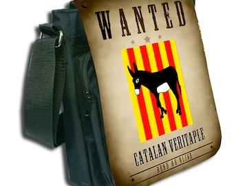 Shoulder bag handbag catalan M canvas