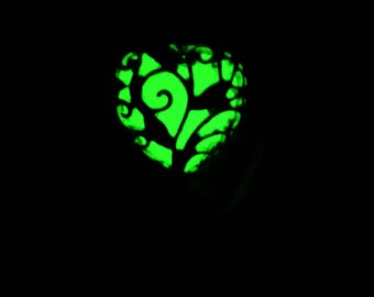 Glow in the Dark Tree of Life Charm