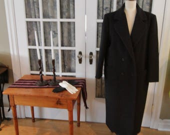 1980's Charcoal Grey J.G. Hook Women's Coat