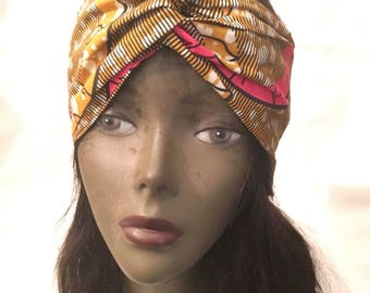 turban headband made of wax