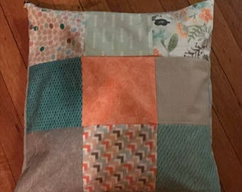 Quilted pillow case