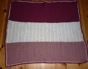 Tri-color cover stitch crochet pattern