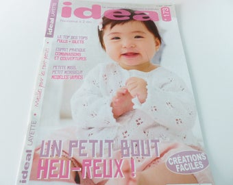 magazine Ideal baby number 173 knitting stitches-2 years 2017
